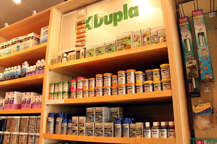 Large gamme de produits Dupla
